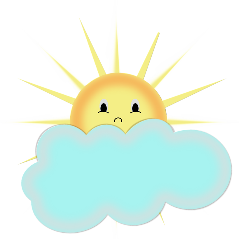 Sun behind cloud modern clipart clip black and white library SOL, LUA, NUVEM E ETC. | Ovi | Pinterest | Clip art, Craft paint and ... clip black and white library