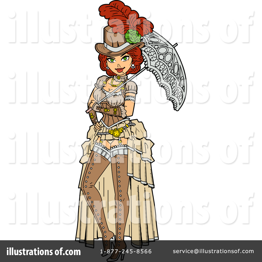 Steampunk clipart illustrations vector freeuse stock Steampunk Clipart #1361624 - Illustration by Clip Art Mascots vector freeuse stock