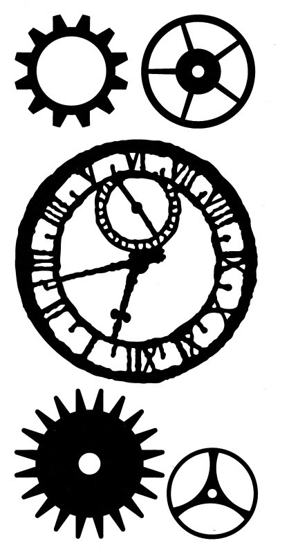 Steampunk clipart images clip black and white Free Steampunk Gear Cliparts, Download Free Clip Art, Free ... clip black and white