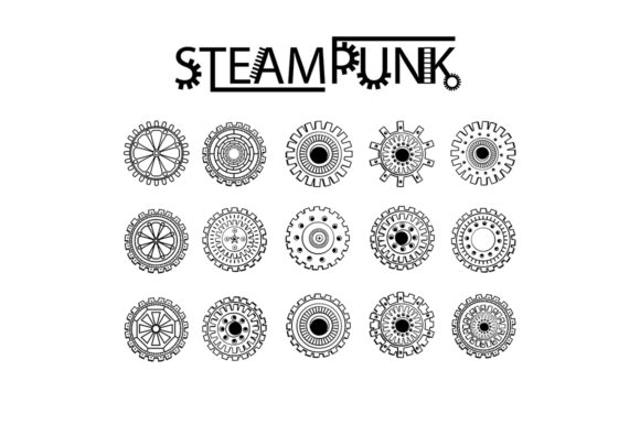 Steampunk clipart images png free stock Steampunk Clipart + Coloring Pages! png free stock
