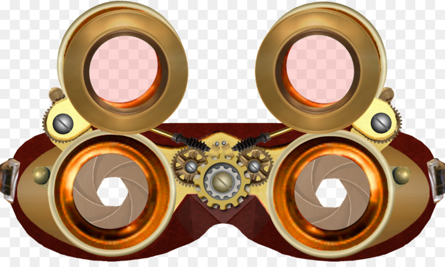 Steampunk fashion clipart graphic transparent stock Download Free png Steampunk fashion Goggles Clip art ... graphic transparent stock
