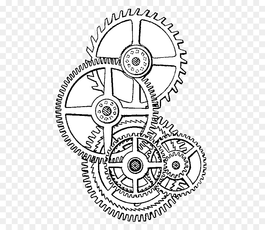Steampunk gears clipart no background black and white clip art royalty free library Gear Background png download - 560*768 - Free Transparent ... clip art royalty free library