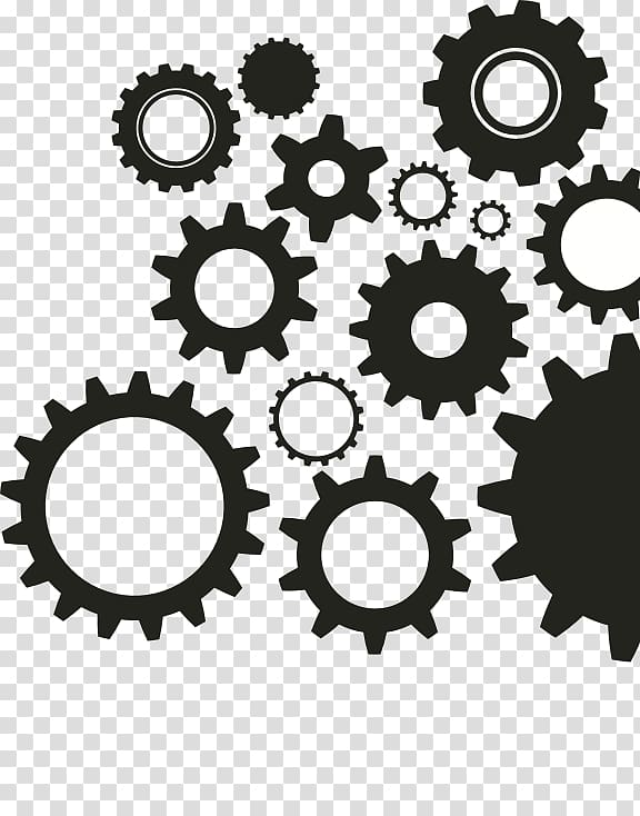 Steampunk gears clipart no background black and white vector library stock Gear , steampunk gear transparent background PNG clipart ... vector library stock