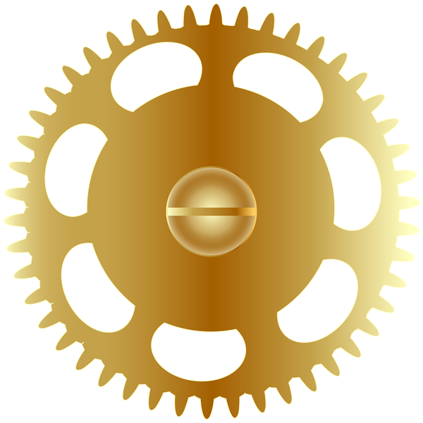 Steampunk heart clipart jpg royalty free stock Gold Steampunk Gear PNG Clip Art Image   Gallery Yopriceville ... jpg royalty free stock