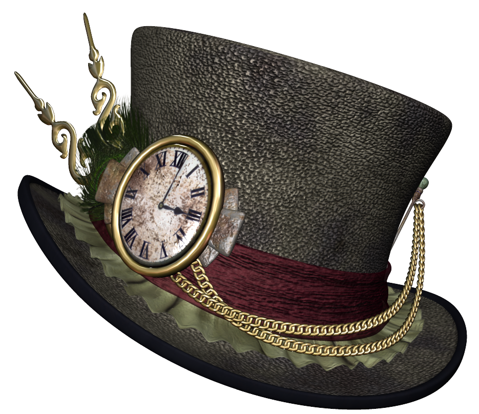 Steampunk heart clipart graphic Steampunk Hat PNG Clipart Picture   Gallery Yopriceville - High ... graphic