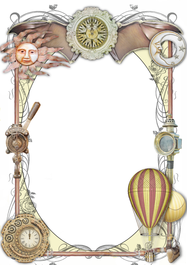 Steampunk heart clipart vector library stock Steampunk Frame 2 by lumpi69 on DeviantArt vector library stock