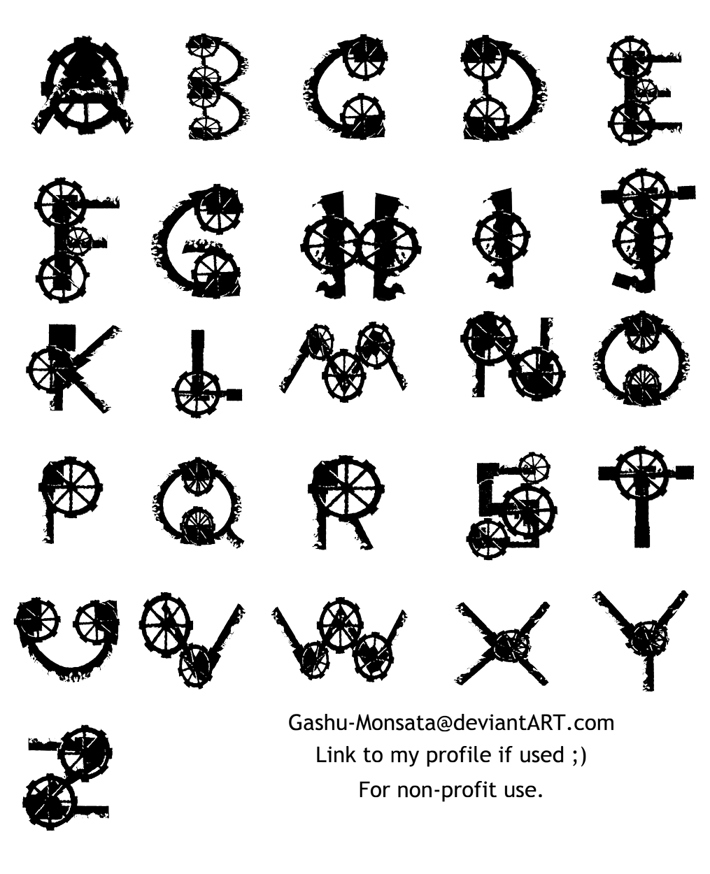 Steampunk heart clipart picture library Steampunk Alphabet by `Gashu-Monsata on deviantART   Steampunk ... picture library