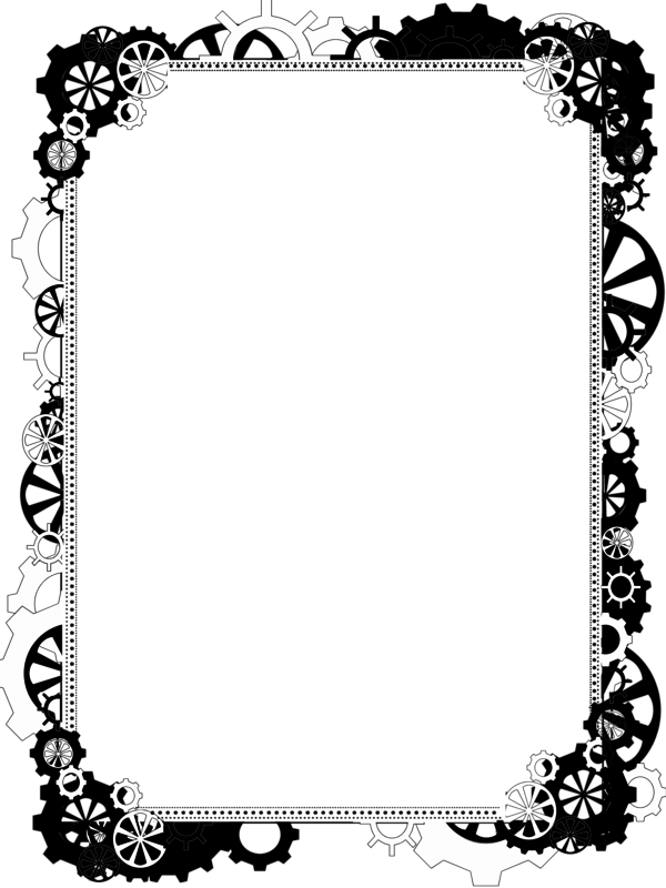 Steampunk heart clipart banner freeuse stock Bdr PNG Steampunk Bling 2 by Bnspyrd   Bnspyrd by ART Borders ... banner freeuse stock