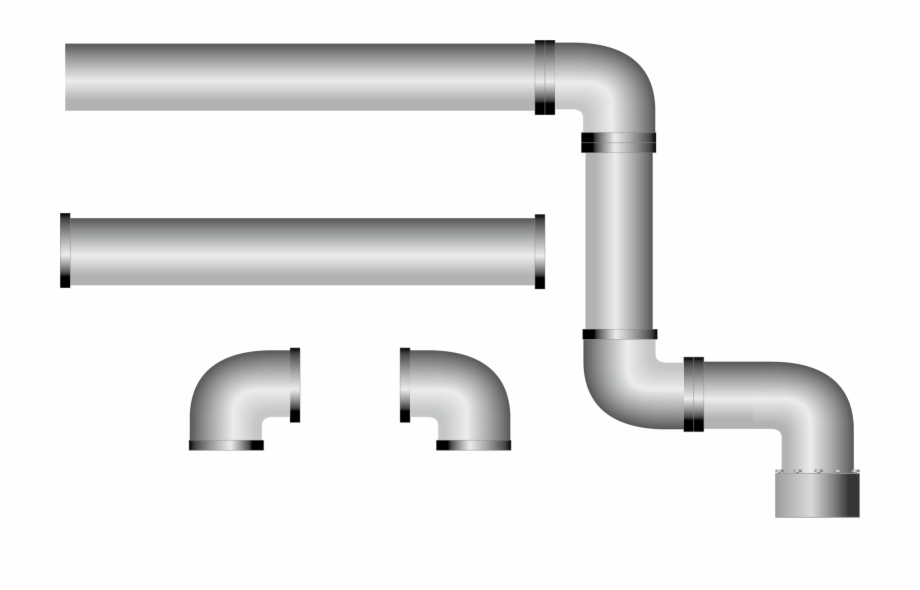 Steel pipe clipart picture download Pipe Clipart Steel Pipe - Water Pipe Vector Png, Transparent ... picture download