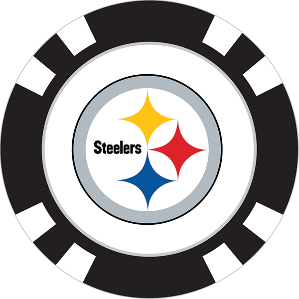 Steelers football clipart png library download Poker Chip - Page 3 of 4 - Team Golf USA png library download
