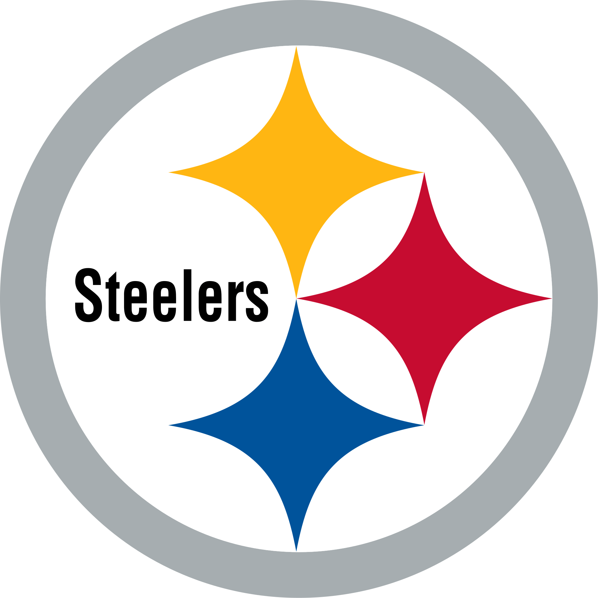Steelers football clipart vector freeuse Pittsburgh Steelers Logo transparent PNG - StickPNG vector freeuse