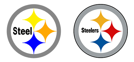 Steelers logo clipart free banner library library Collection of Steelers clipart | Free download best Steelers ... banner library library