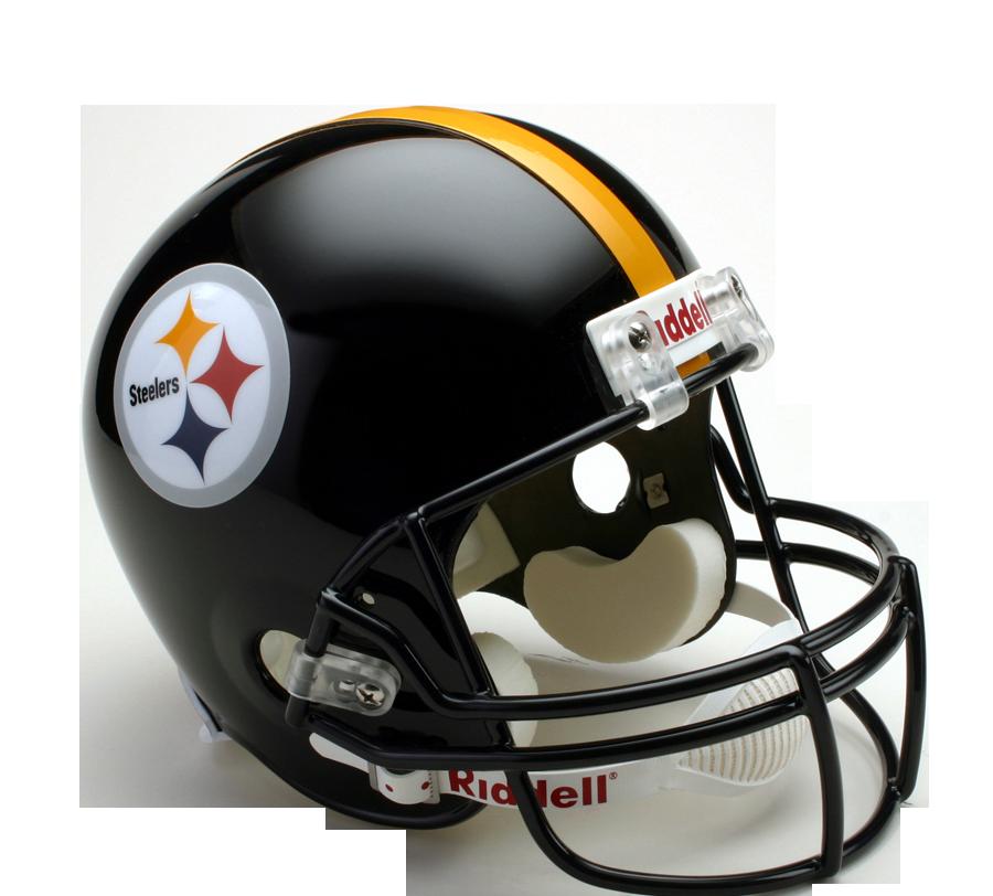 Steelers football helmet clipart svg black and white stock Riddell DeLuxe Replica Helmet - American Football Equipment ... svg black and white stock