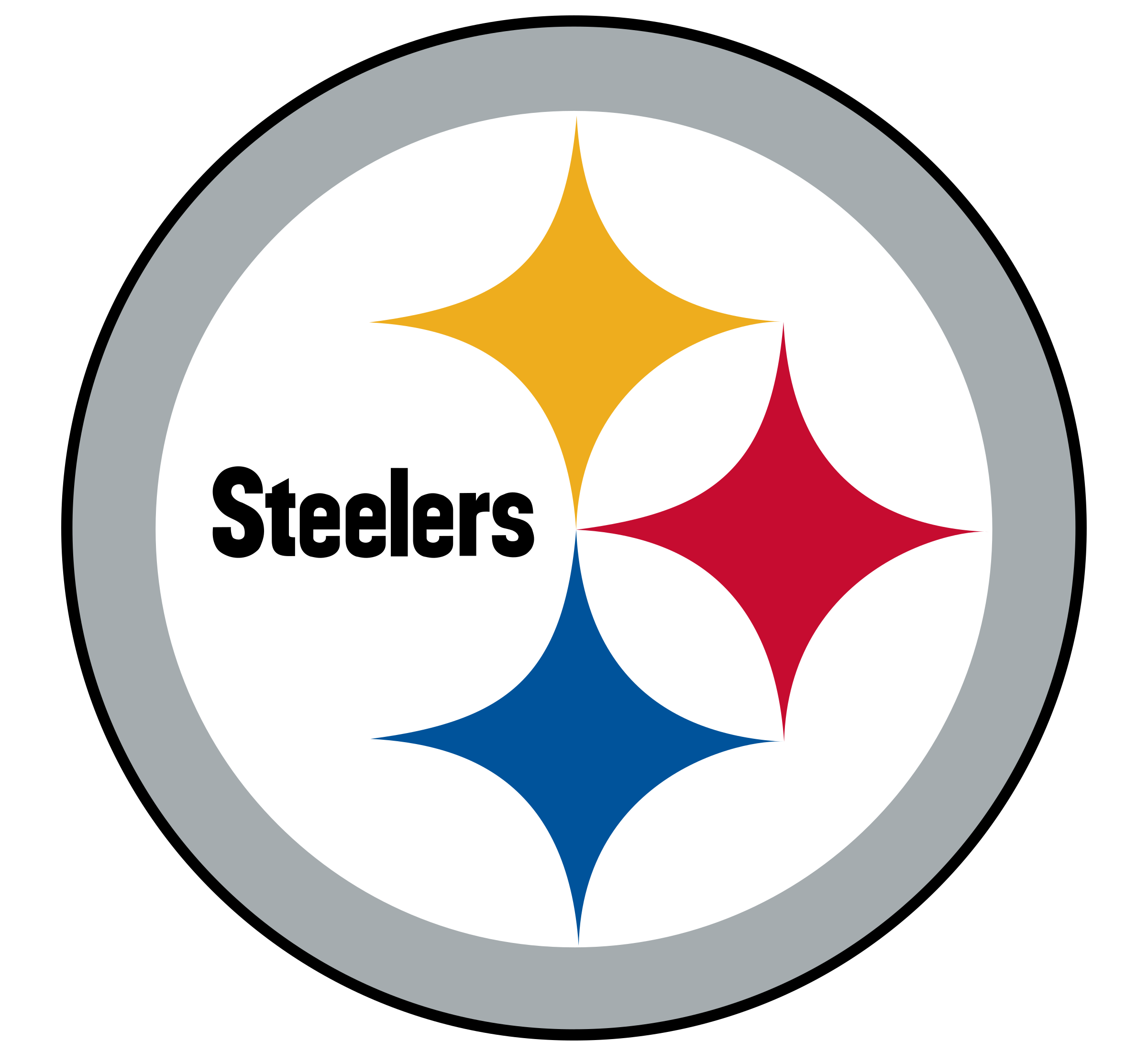 Steelers football helmet clipart vector library stock Pittsburgh Steelers Logo PNG Transparent & SVG Vector - Freebie Supply vector library stock