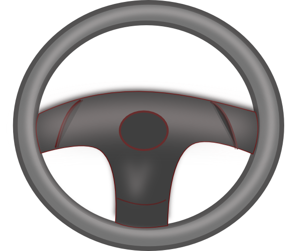 Steering wheel clipart 3 clip freeuse download Steering Wheel Black Clip Art at Clker.com - vector clip art ... clip freeuse download
