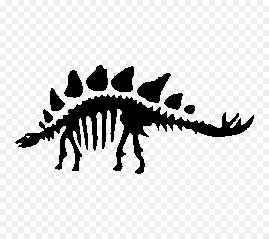 Stegosaurus skeleton silhouette clipart png free Dinosaur Clipart png download - 800*800 - Free Transparent ... png free