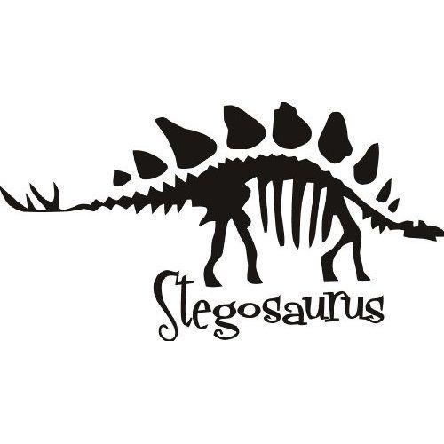 Stegosaurus skeleton silhouette clipart vector stock Bone clipart stegosaurus, Bone stegosaurus Transparent FREE ... vector stock