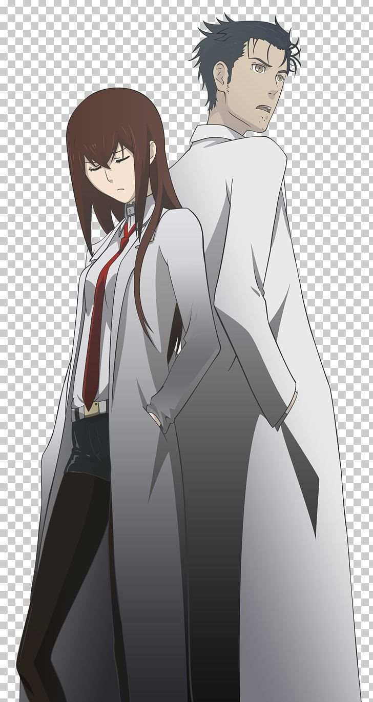 Steins clipart png royalty free Rintarou Okabe Steins;Gate 0 Kurisu Makise Anime PNG ... png royalty free