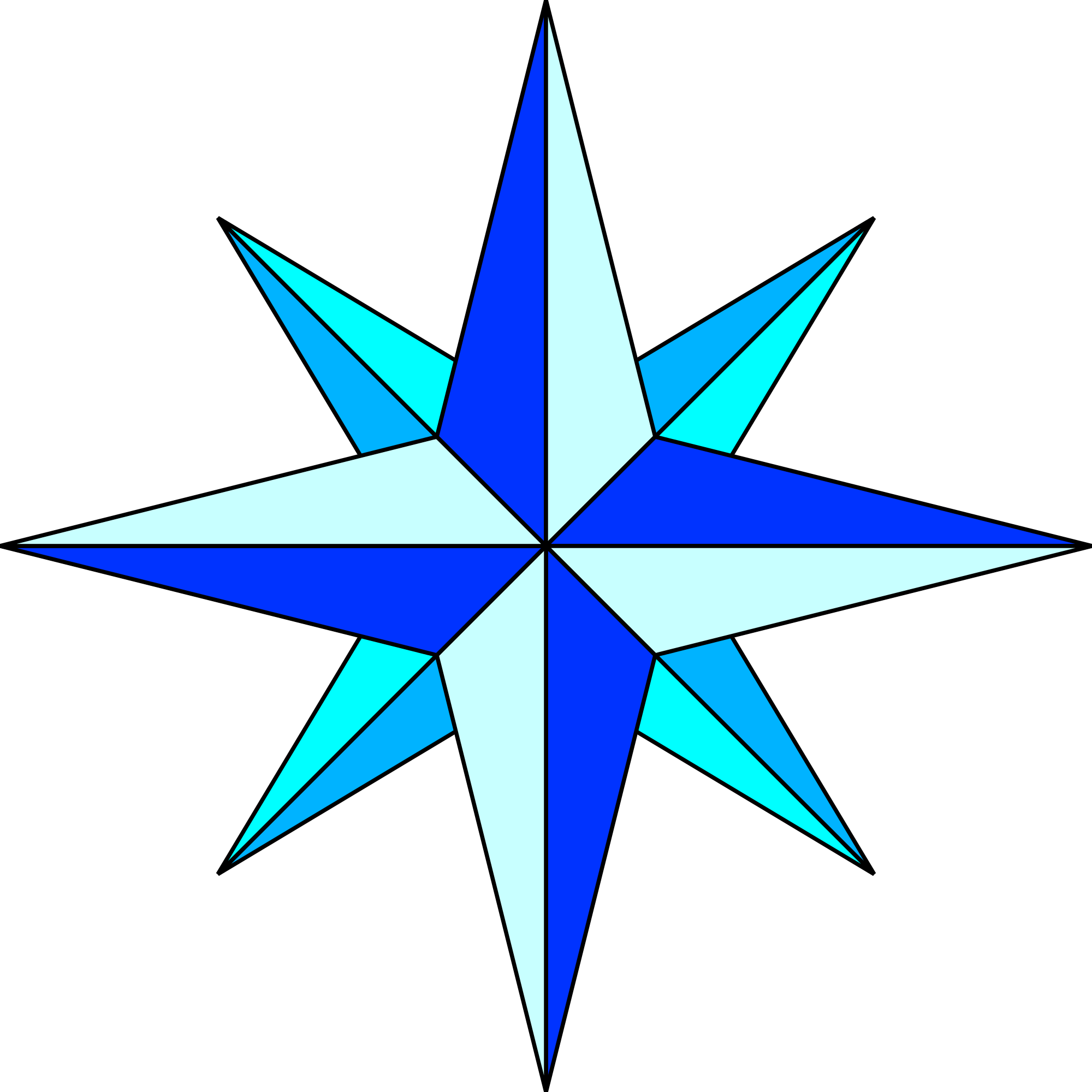 Stellar star clipart picture freeuse library File:Compass rose simple plain.svg - Wikimedia Commons picture freeuse library