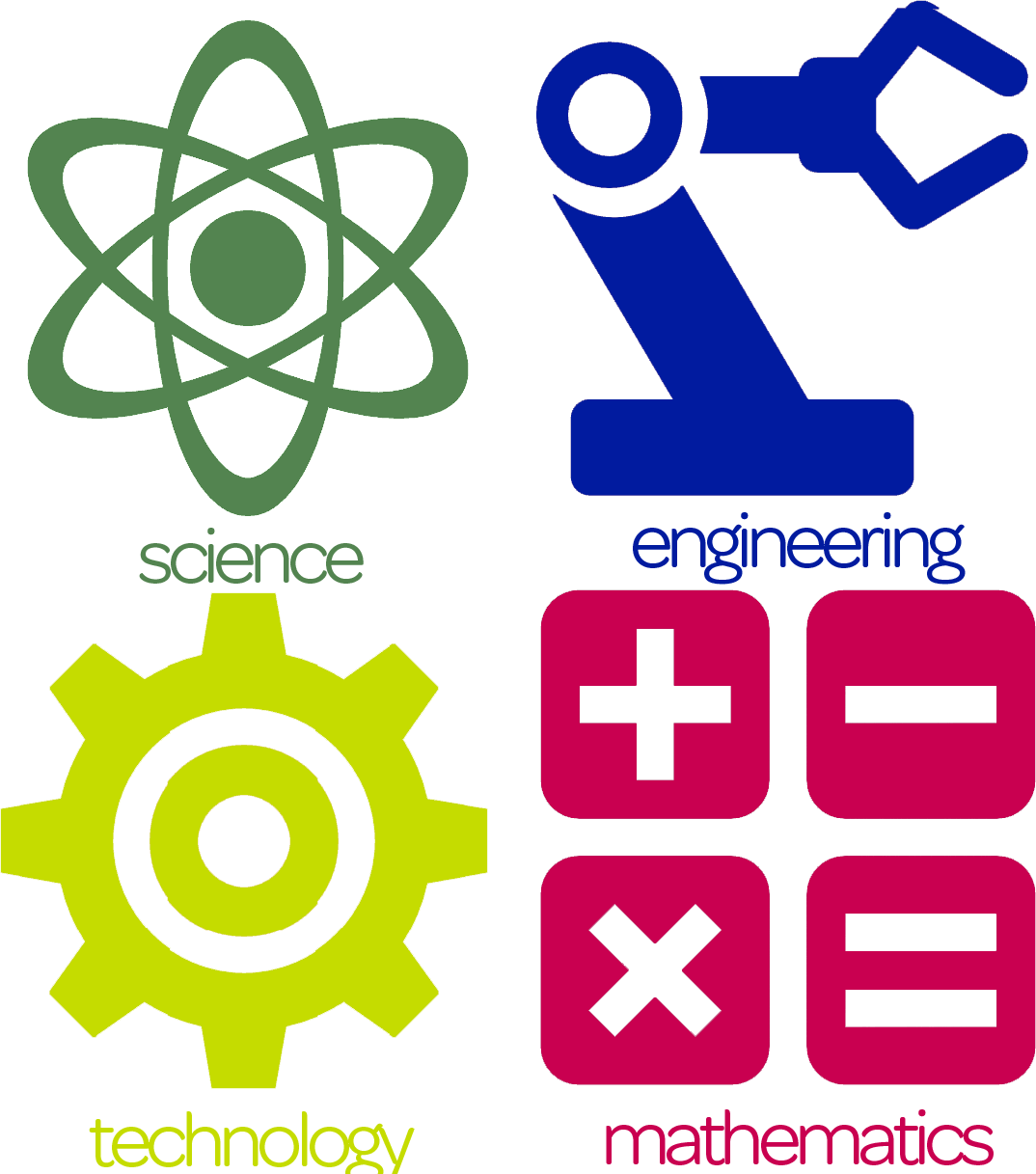 Math and science clipart vector library library Math And Science Clipart - Science Technology Engineering ... vector library library