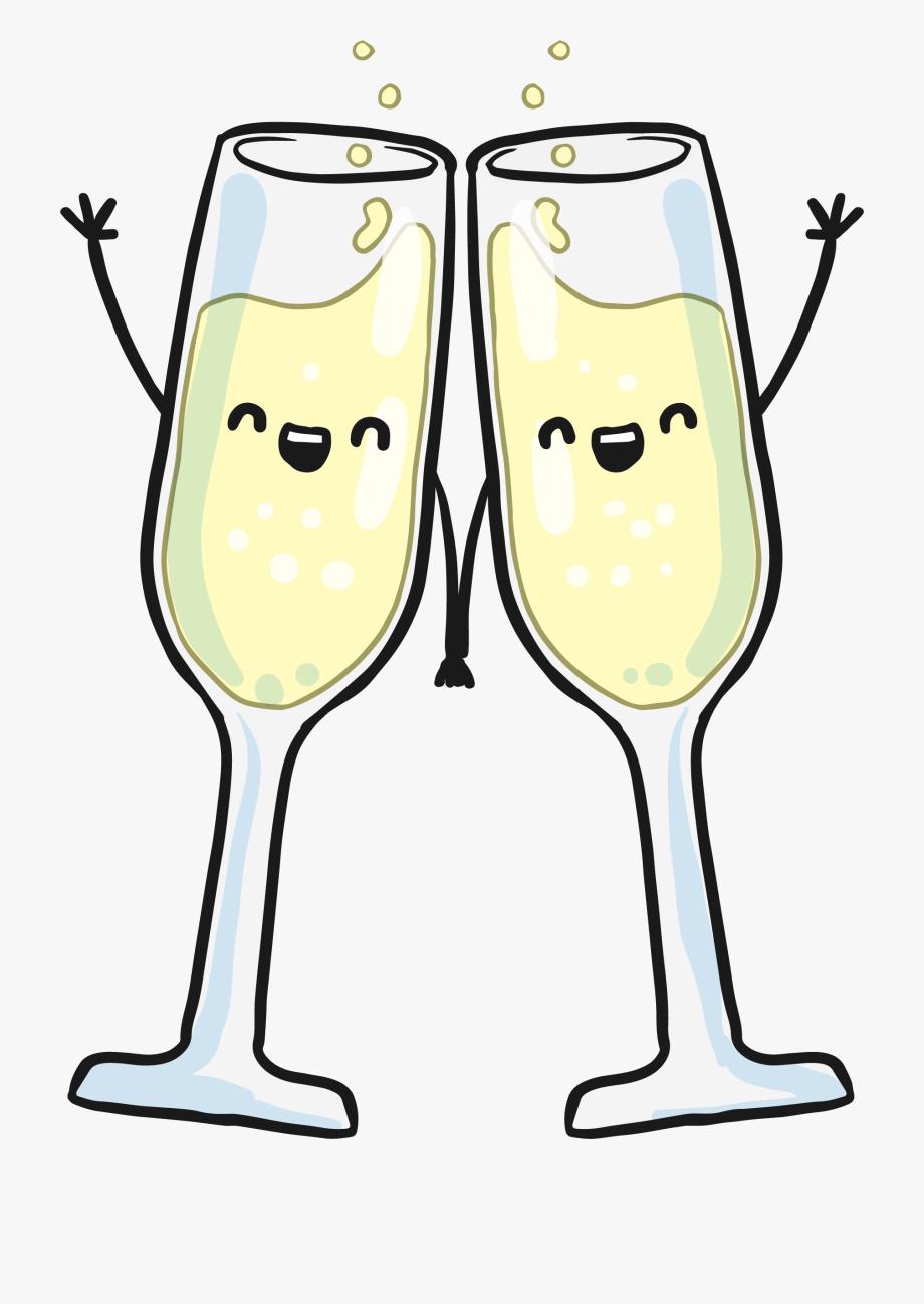 Wedding champagne glass clipart clip art library library Hand Glass Wine In Champagne Glasses Clipart - Wedding ... clip art library library