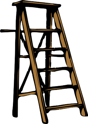 Step ladder clipart