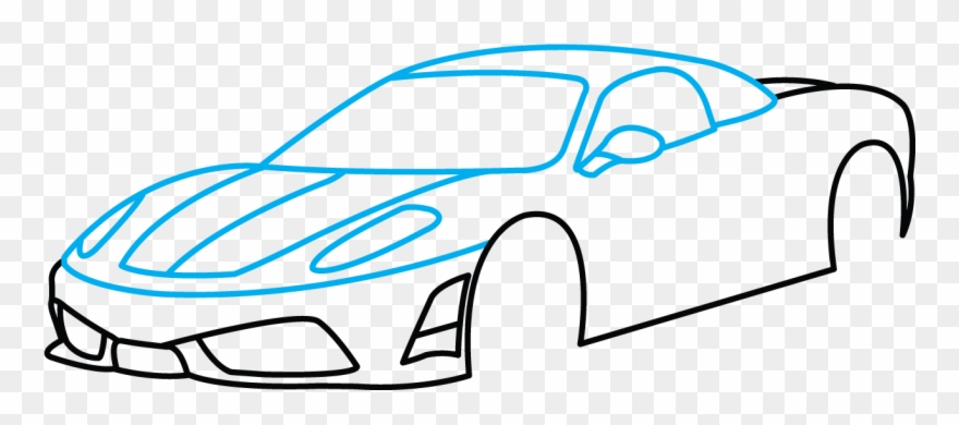 Step side clipart clip art royalty free stock Cars Drawings - Sport Car Drawing Step By Step Clipart ... clip art royalty free stock