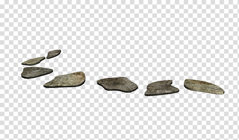 Stepping stone clipart freeuse stock D Stepping Stones, gray stone plates transparent background ... freeuse stock