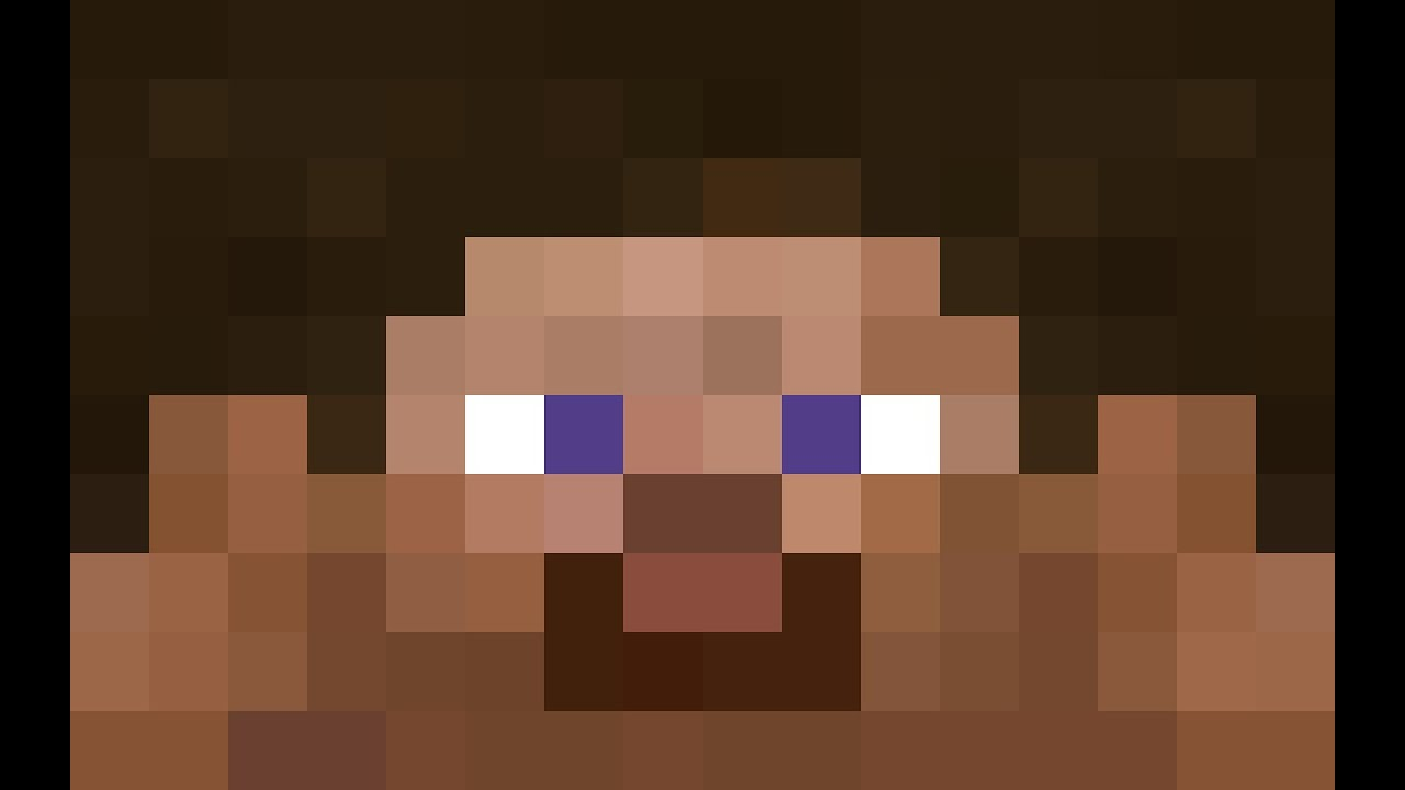 Steve head clipart svg transparent library Minecraft Steve Head Pixel Art   pixel art de chien   pixel ... svg transparent library