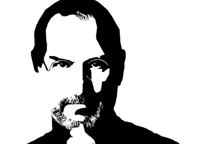 Steve jobs line drawing clipart black and white png transparent download How Steve Jobs\' Artistry Changed the World ‹ Pepperdine Graphic png transparent download