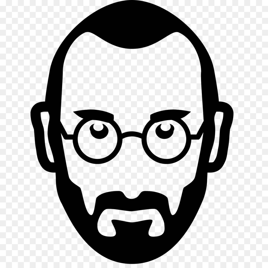 Steve jobs line drawing clipart black and white clip art library download Smiley Face Background png download - 1600*1600 - Free ... clip art library download
