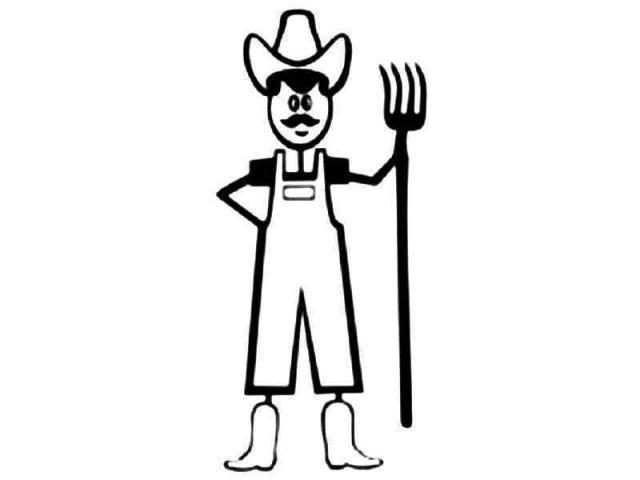 Stick farmer clipart png black and white stock Free Farmer Clipart, Download Free Clip Art on Owips.com png black and white stock