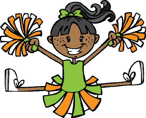 Stick figure cheerleader clipart banner free Cheerleader stick figure clip art clipart images gallery for ... banner free