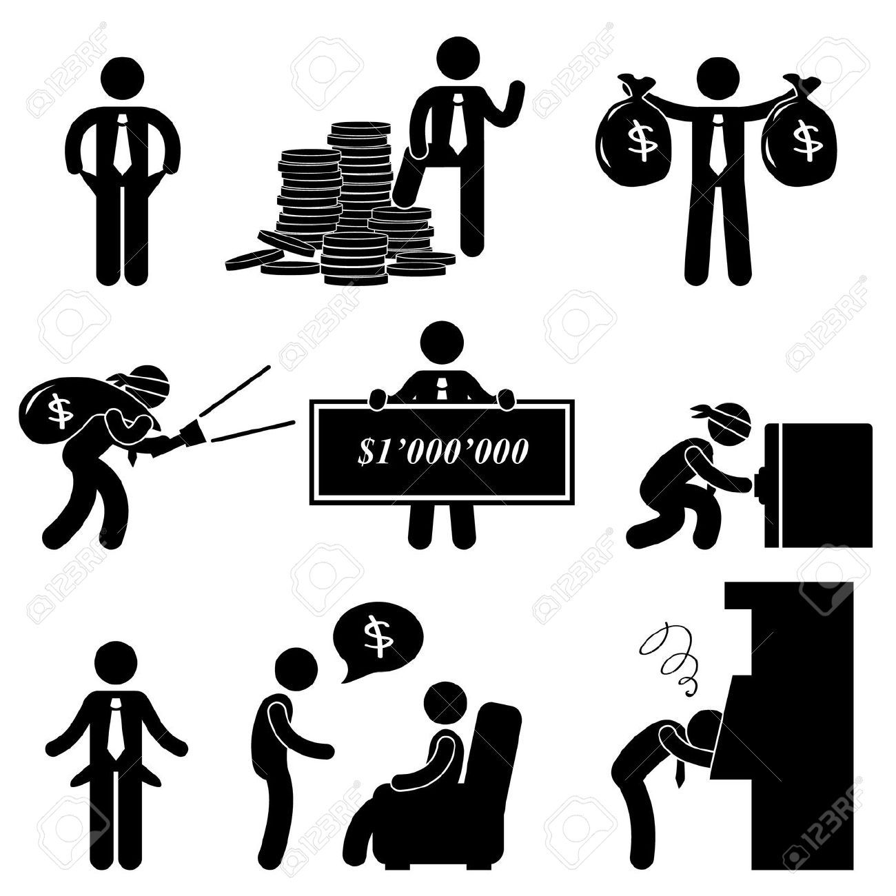 Stick figure clipart fail jpg freeuse Stock Vector | diagram | Pictogram, Character art, Stick figures jpg freeuse