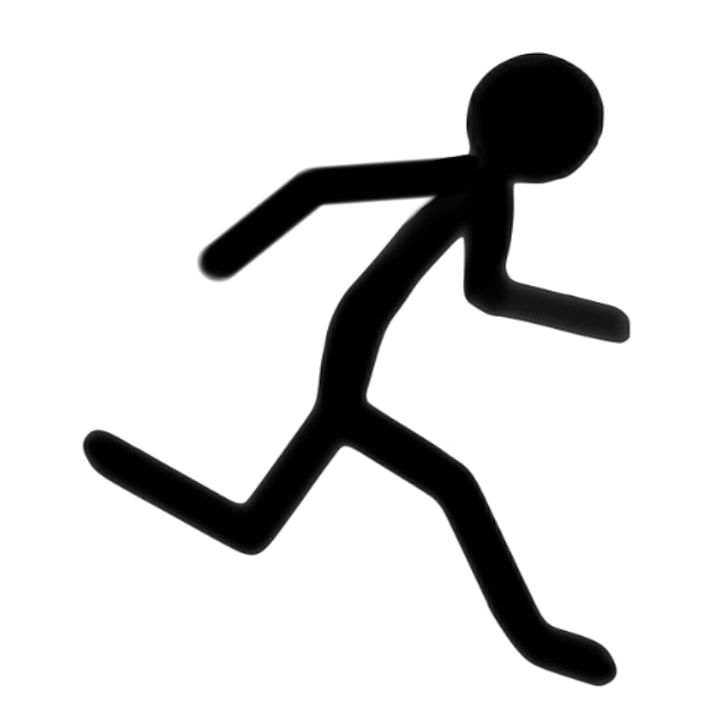 Running figure clipart image stock Stick Figure Running PNG, Clipart, Animation, Cartoon, Clip ... image stock