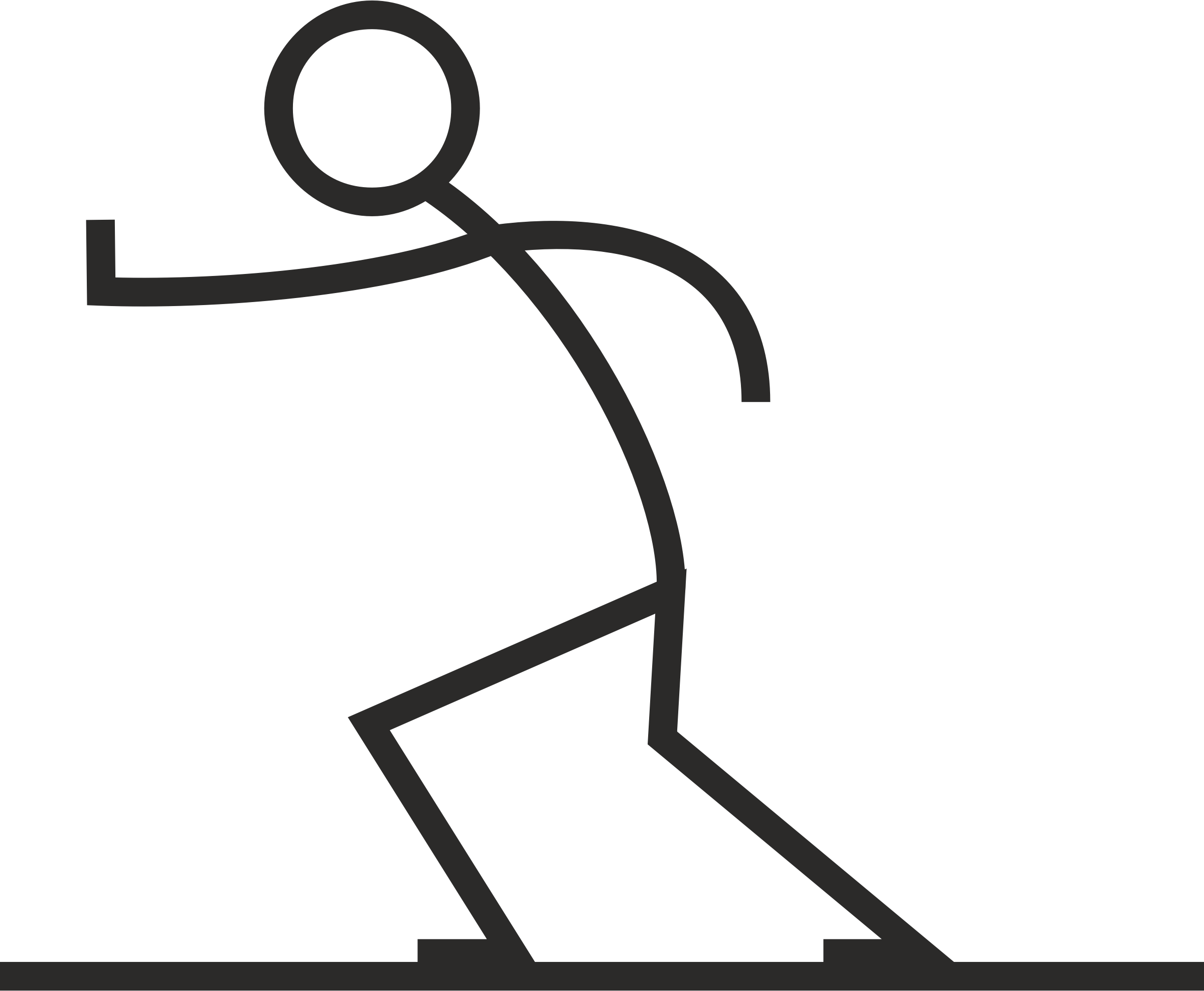 Stick figure dog clipart png library library Running Stick Figure Group (67+) png library library