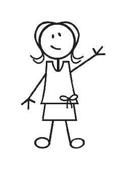 Stick figure girl clipart png transparent library Pinterest png transparent library