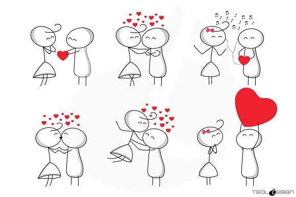 Stick figure love clipart picture royalty free library Stick Figure Love Stick People | Be My Valentine | Stick ... picture royalty free library