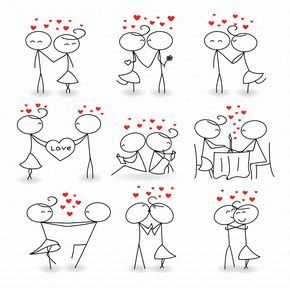 Stick figure love clipart clip royalty free stock Stick Figure Clipart Clip Art Love Stick People by ... clip royalty free stock
