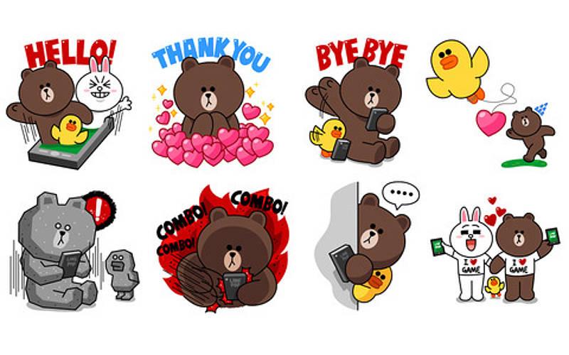Sticker line clipart pack download picture stock Stickers Are the New Emoji - Envato picture stock