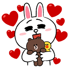 Sticker line clipart pack download image royalty free download LINE Characters Fun Size Pack – LINE stickers | LINE STORE image royalty free download