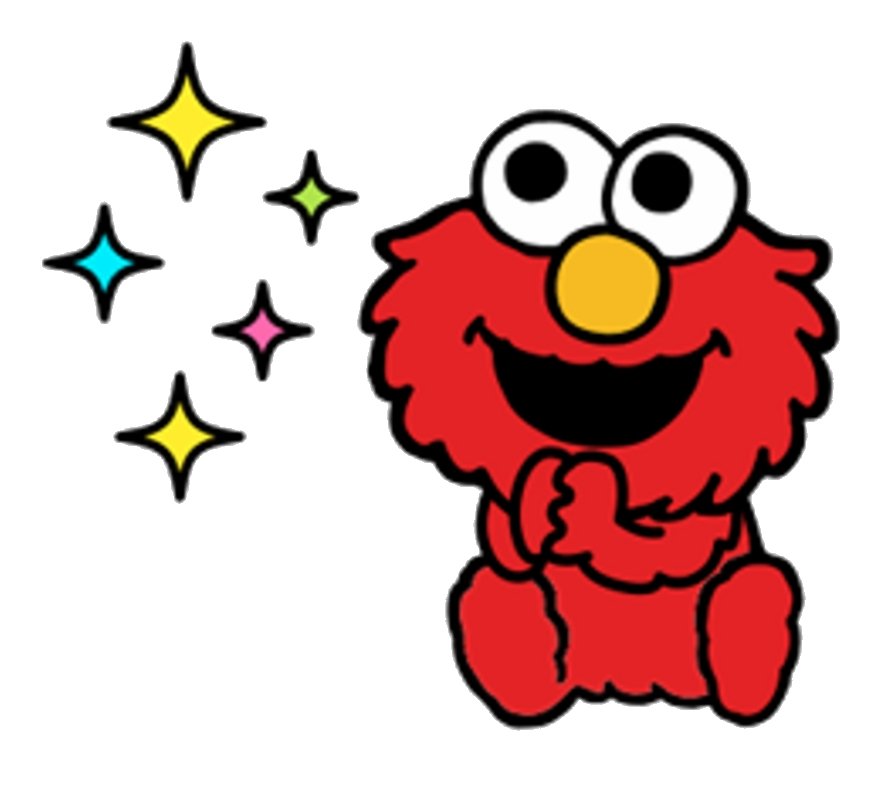 Sticker telegram clipart vector free Elmo Sesame Street Stickers Telegram Clipart Transparent Png ... vector free