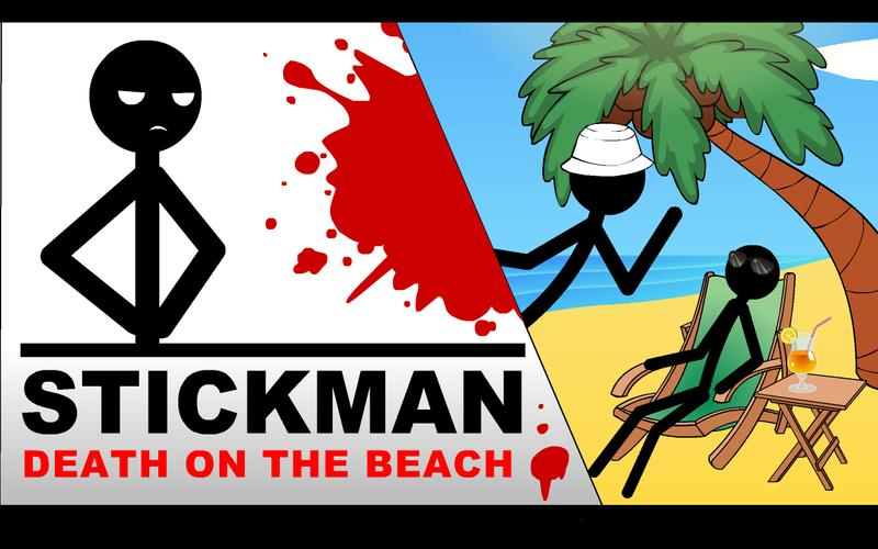 Stickman death clipart picture black and white download Stickman Death on the Beach for Android - APK Download picture black and white download