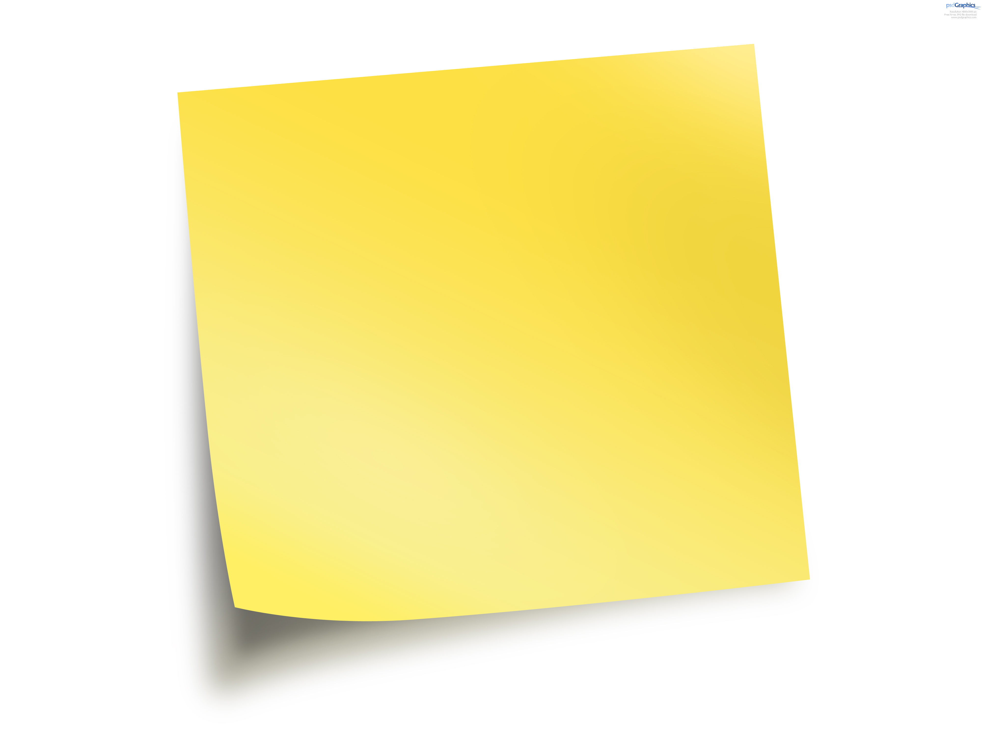 Sticky note clipart jpg transparent stock Free Sticky Notes, Download Free Clip Art, Free Clip Art on ... jpg transparent stock