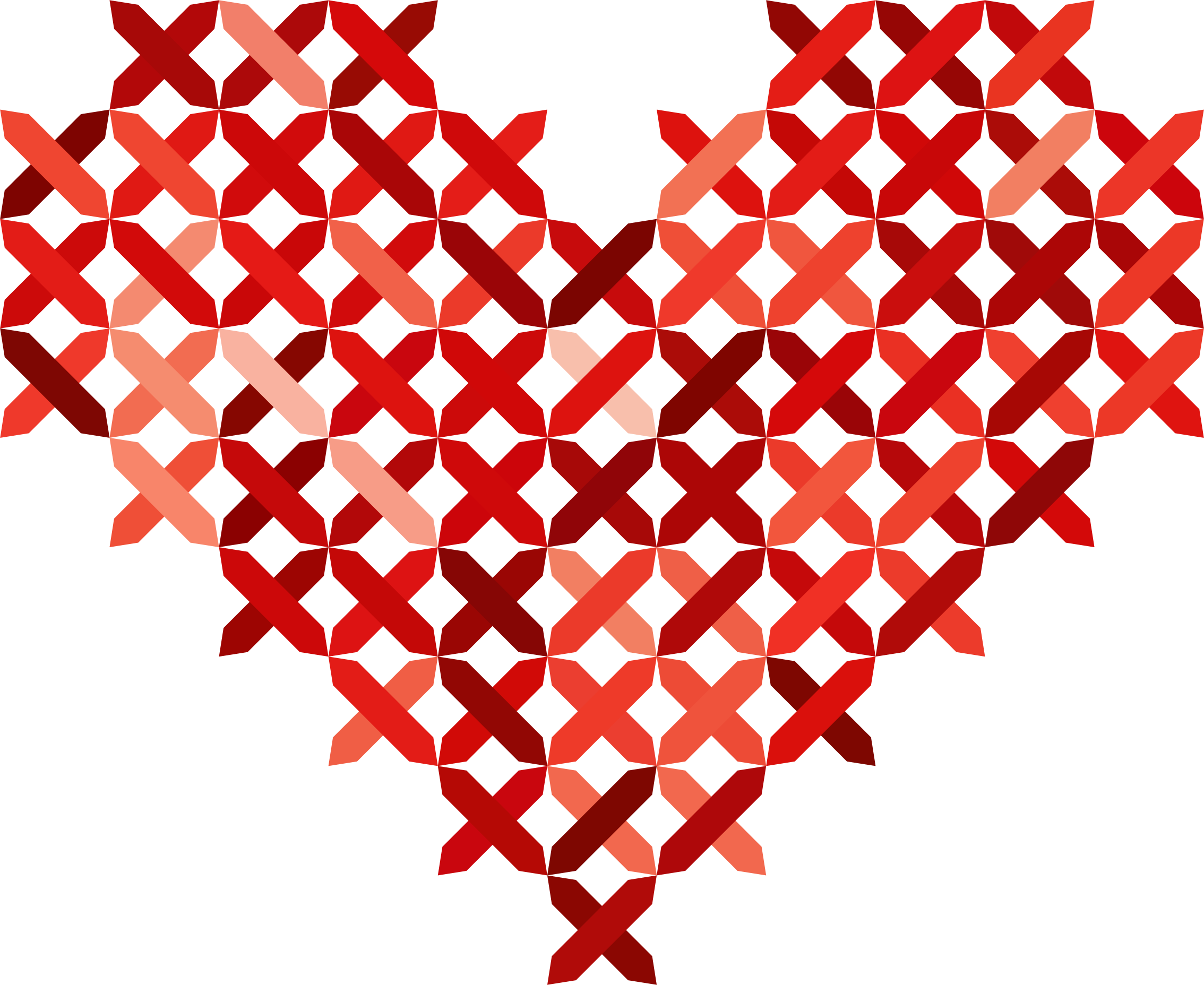 Stitched heart clipart vector stock Cross Stitched Heart Reddish Icons PNG - Free PNG and Icons Downloads vector stock
