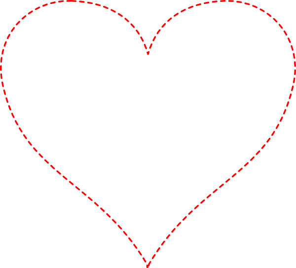 Stitched heart clipart graphic black and white stock Stitched Heart Clipart graphic black and white stock