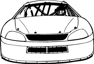 Stock car clipart free Stock car clipart - ClipartFest free