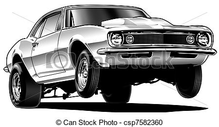 Stock car clipart clip black and white Drag Car Clipart - Clipart Kid clip black and white