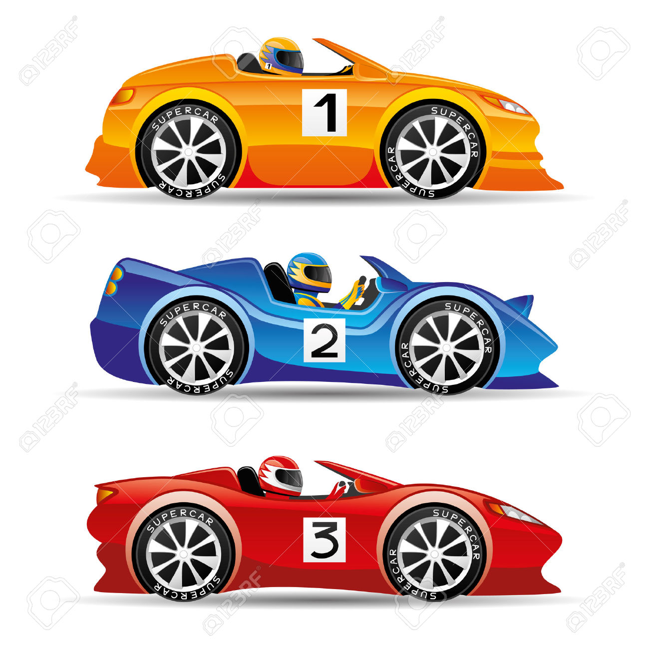 Stock car race car clipart clip art black and white download Racing Cars. Royalty Free Cliparts, Vectors, And Stock ... clip art black and white download