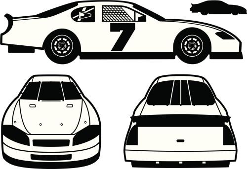 Stock car race car clipart freeuse library Stock car race car clipart - ClipartFest freeuse library